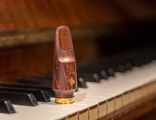 Произведение искусства — мундштук SHIVA для альт-саксофона
